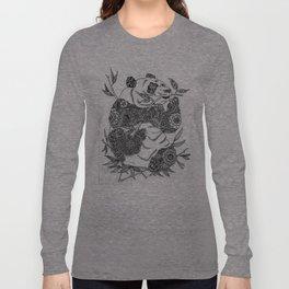 panda-tangle Long Sleeve T-shirt