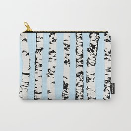 Birch pattern Carry-All Pouch