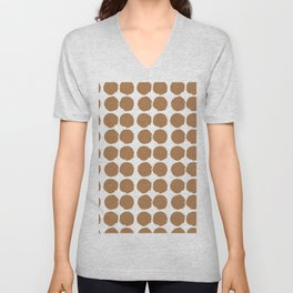 Cookie Jars from above - minimal pattern Unisex V-Neck