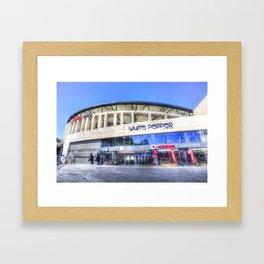 Besiktas JK Stadium Istanbul Framed Art Print