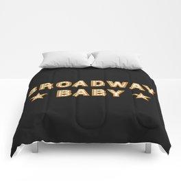 Broadway Baby! Comforters