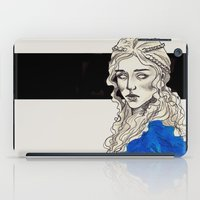 mother of dragons iPad Cases featuring Mother Of Dragons by Fatma Sahem