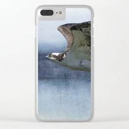 The Flight of the Osprey, No. 1r Clear iPhone Case