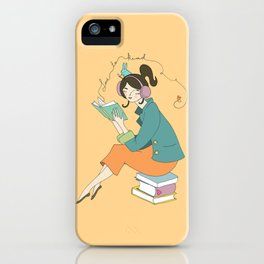Love to Read iPhone Case