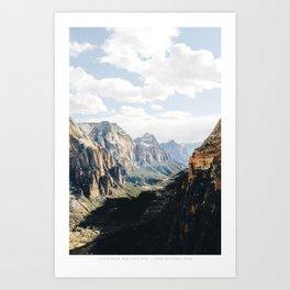 SIMPLE & DEEP Art Print