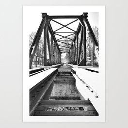 Bridge 5 Art Print