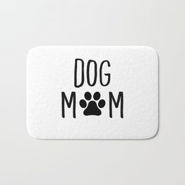 Dog Mom Paw Bath Mat