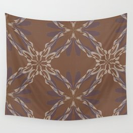 Pattern brown decoration Wall Tapestry
