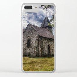 Streat Church Clear iPhone Case