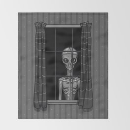 The Visitor Throw Blanket