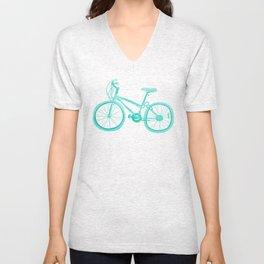 No Mountain Bike Love? Unisex V-Neck