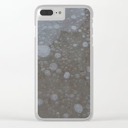 frozen bubbles Clear iPhone Case