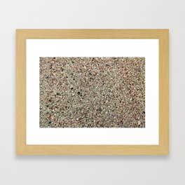 Bermuda Sand Framed Art Print