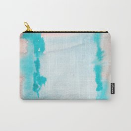 180815 Watercolor Rothko Inspired 9| Colorful Abstract | Modern Watercolor Art Carry-All Pouch