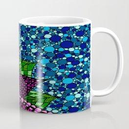 Stained Glass Flower Coffee Mug