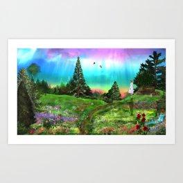 The Sacred Path Art Print