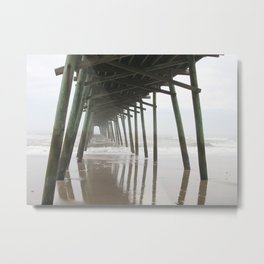 Into the Sea Metal Print