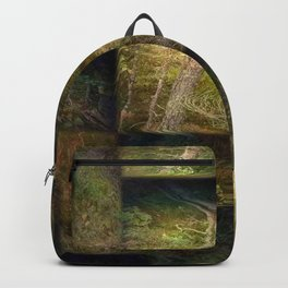 Forest on boxes Backpack
