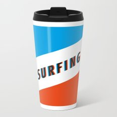 SURFING 3D - Square Travel Mug