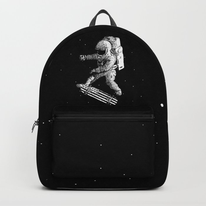 Kickflip in space Backpack