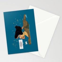 Pocahontas - Just around the Riverbend Stationery Cards