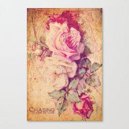 Pauline's Rose Wall Canvas Print