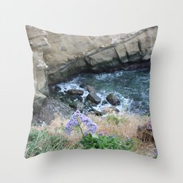 Ocean Colors Throw Pillow