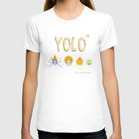 yolo T-shirts featuring YOLO by Kathryn Hudson Illustrations