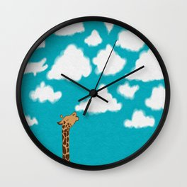 Cloud Diet Wall Clock