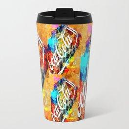Coke Grunge Travel Mug