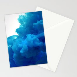 blue cloud Stationery Cards