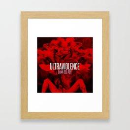 Ultraviolence Framed Art Print