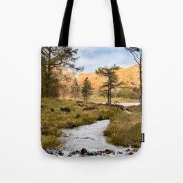 Lake District landscape Tote Bag
