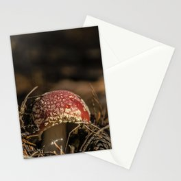 Red forest #2 Stationery Cards