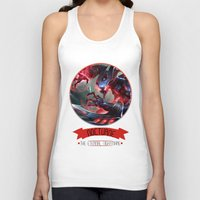 league of legends Tank Tops featuring League Of Legends - Nocturne by TheDrawingDuo