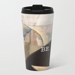 may you be peace. Metal Travel Mug