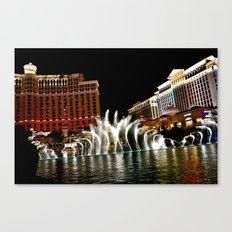 Vegas Canvas Print