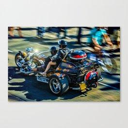 Brighton Trike Canvas Print