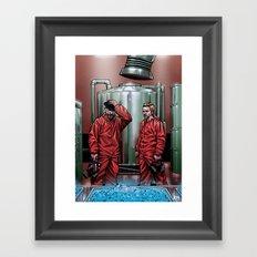 Blue Meth Framed Art Print