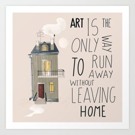 Art at home Art Print