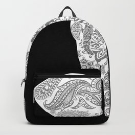 Paisley Elephant Backpack