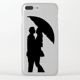 Beloved ones Clear iPhone Case