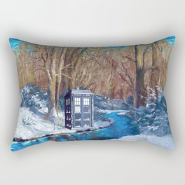 Frozen Tardis Doctor who iPhone 4 5 6 7 8, pillow case, mugs and tshirt Rectangular Pillow