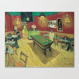 The Night Cafe by Vincent van Gogh Canvas Print