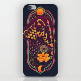 Lotus Elephant iPhone Skin