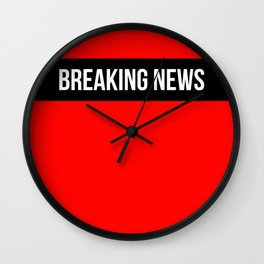 Hear Ye - Breaking News Design Wall Clock