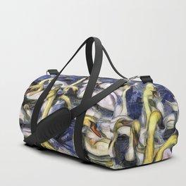 Swans Vincent Van Gogh Duffle Bag