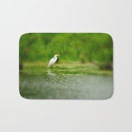 Marsh Egret Bath Mat