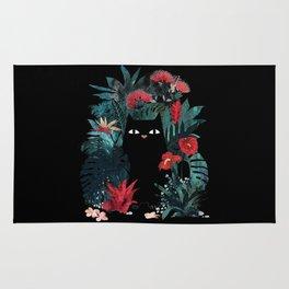 cat black Rug