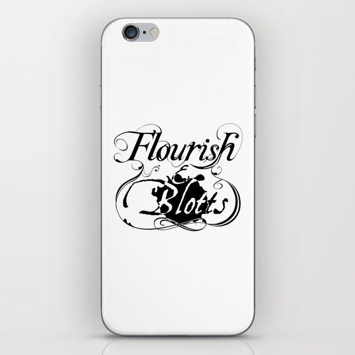 Flourish & Blotts of Diagon Alley iPhone Skin